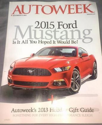 2015 Mustang Leaked - 1