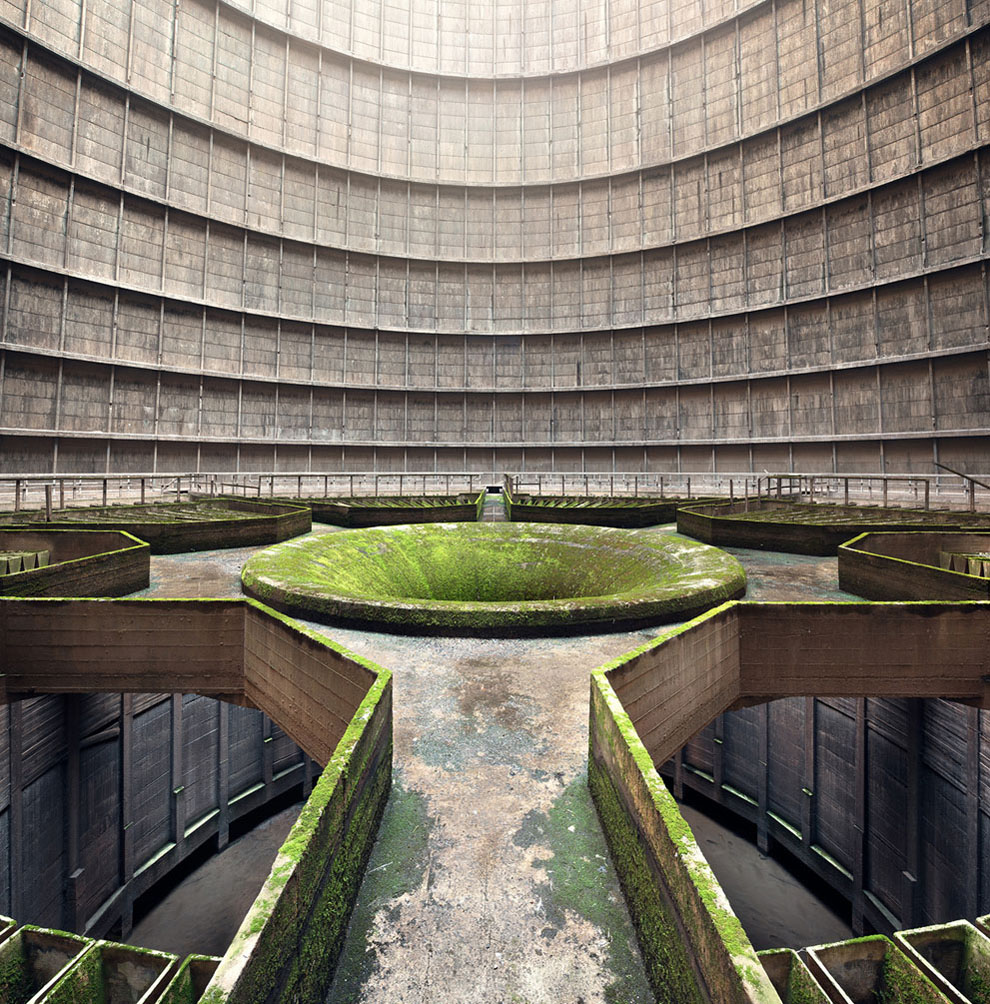 © Jan Stel, Interior of an Abandoned Cooling Tower, 2014 Sony World Photography Awards